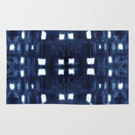 Shibori City Blue Rug