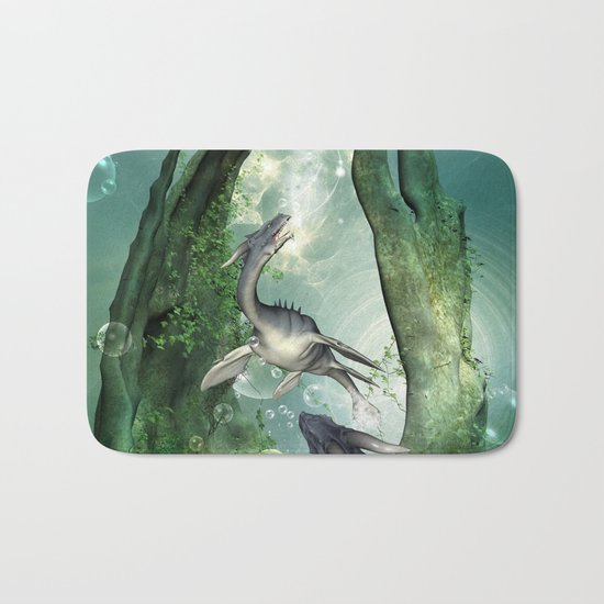 Awesome seadragon Bath Mat