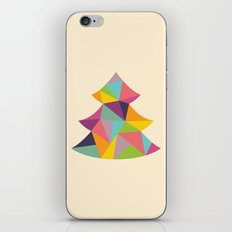 Colourful Christmas Tree iPhone & iPod Skin