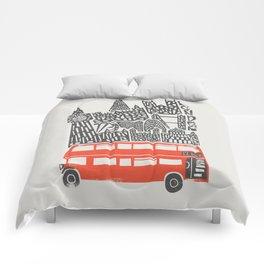 London Cityscape Comforters