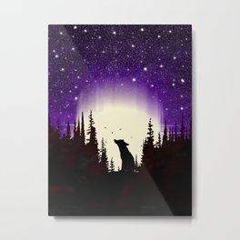 Forest Fox Metal Print