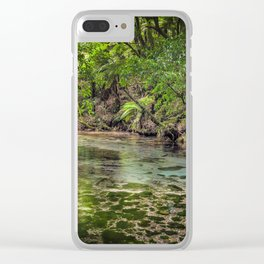 Hamurana Springs 2 Clear iPhone Case