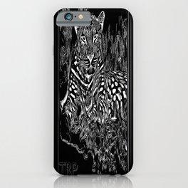Big Cat Models: Leopard Laze 01-02 iPhone Case
