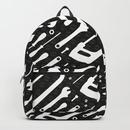 Black and White Tools Backpack