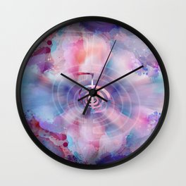Cho Ku Rei - Gentle Watercolor Wall Clock