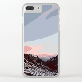 Beautiful sunrise in Andorra Clear iPhone Case