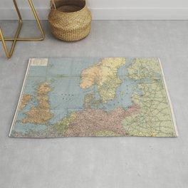 Flemmings Kriegskarten / Flemming's War Maps (1914) - 005 Naval War Map Rug