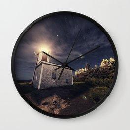 Point Prim Lighthouse Wall Clock