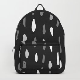 Stains Black and White Backpack