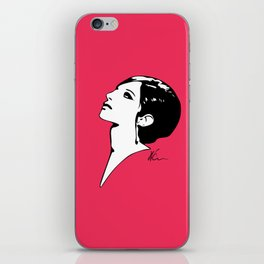 Barbra Streisand - Barbra - Pop Art iPhone Skin