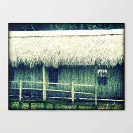 Old witch's house Canvas Print
