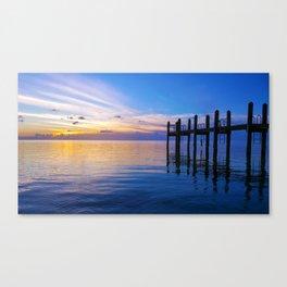 Keys Pier Canvas Print
