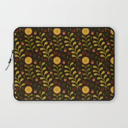 floral night Laptop Sleeve