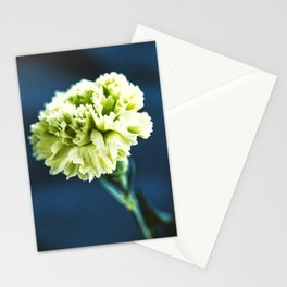 Green Carnation Stationery Cards