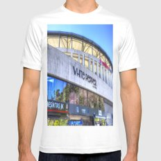 Besiktas JK Stadium Istanbul White MEDIUM Mens Fitted Tee