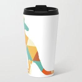 Kangaroo Capers Travel Mug