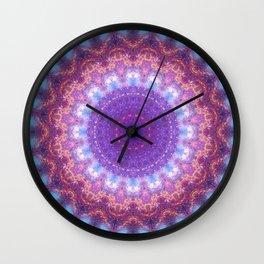 Star Dance Mandala Wall Clock
