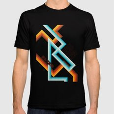 Retro Meaning Mens Fitted Tee Black MEDIUM