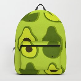 PATTERN OF AVOCADOS ON GREEN Backpack