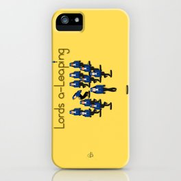 12 Days Of Christmas Nutcracker Theme: Day 12 iPhone Case