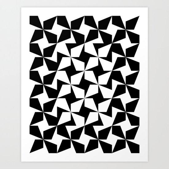 Tessellate No. 1 Art Print