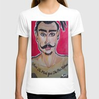 greg guillemin T-shirts featuring MOUSTACHED MODEL (GREG)  by Punkboy Marti