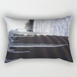 Icicles.  Rectangular Pillow