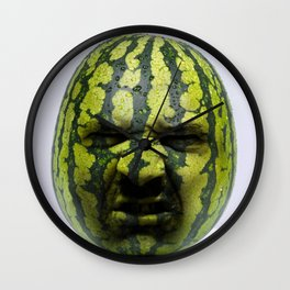 Grumpy Melon Wall Clock