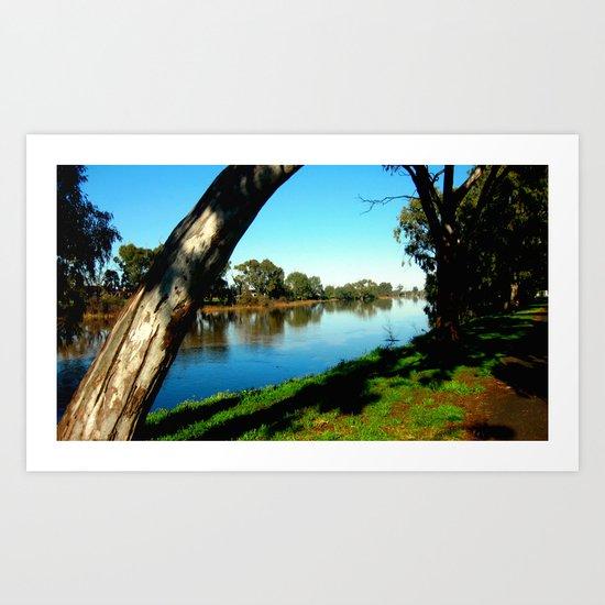 Wimmera River Art Print