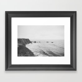 CALIFORNIA COAST Framed Art Print