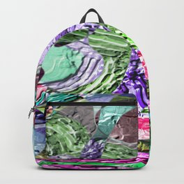 Divergent -abstract digital painting Backpack