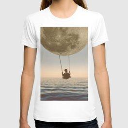 DREAM BIG/MOON CHILD SWING T-shirt