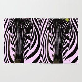 Always together - Two Zebras - illustration - fun - #society6 #buyart Rug