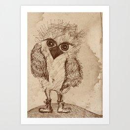 Tough Chick Art Print