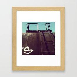 S is for sidestep Framed Art Print