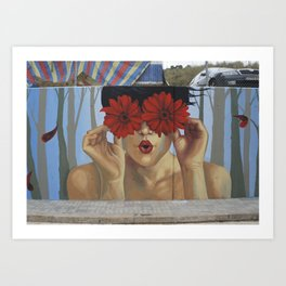 Circus School Art Print