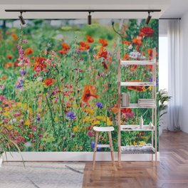 The Wild Flowers (Color) Wall Mural