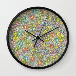 SUPER FLOWER POWER Wall Clock