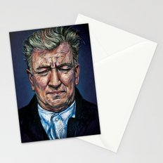Change Begins Within - David Lynch Portrait Stationery Cards