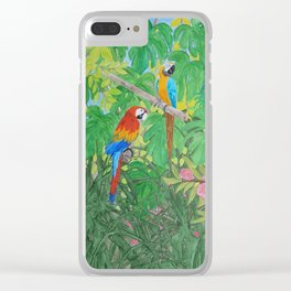 Living in the Amazon Clear iPhone Case