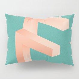 Futuristic F Pillow Sham
