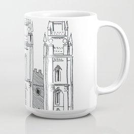 Salt Lake LDS Temple Ink Drawing Coffee Mug