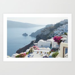 Santorini VII Art Print