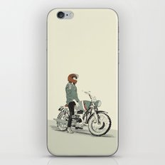 The Woman Rider iPhone & iPod Skin