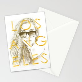 LOS ANGELES SUN Stationery Cards