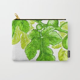 Branch of a fig tree in Summer Carry-All Pouch