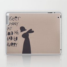 Mister Bunny Hat Laptop & iPad Skin