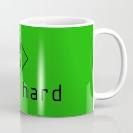 Drive Hard v7 HQvector Coffee Mug
