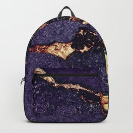 GEMSTONE & GOLD PURPLE ULTRA VIOLET Backpack