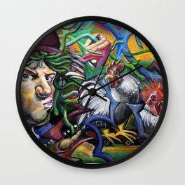 Cockadoodle Doo Wall Clock